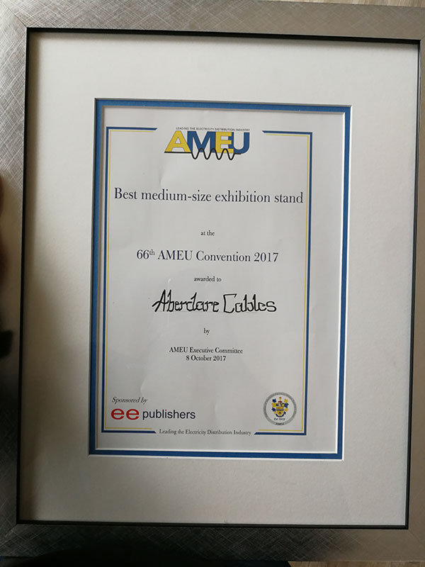 Aberdare-AMEU-Award